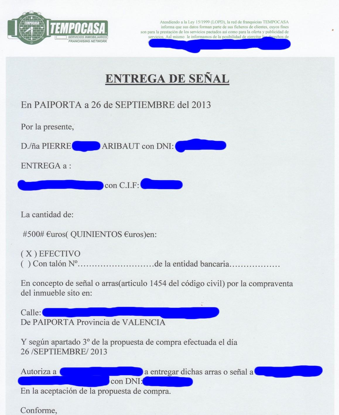 acompte-500-euros-achat-4eme-appartement-paiporta-valencia-26-septembre-2013.jpg