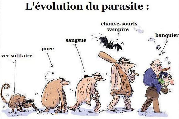 evolution historique parasite au banquier