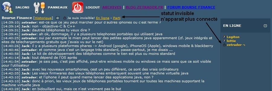 Tchat bourse finance trading pr sentation des fonctions - Salon de chat gratuit ...