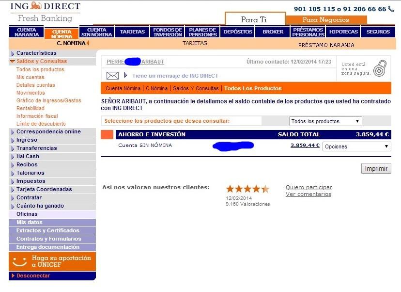 zetrader cuenta sin nomina ing direct 12 fevrier 2014