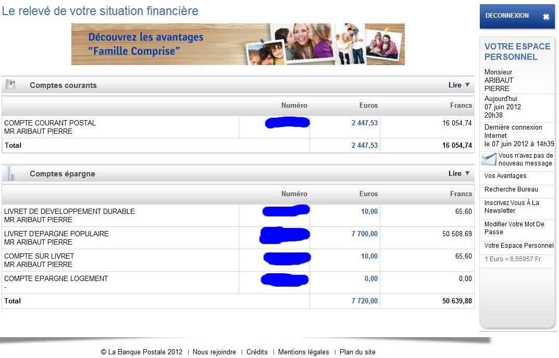 zetrader solde ccp ldd lep csl 7 juin 2012