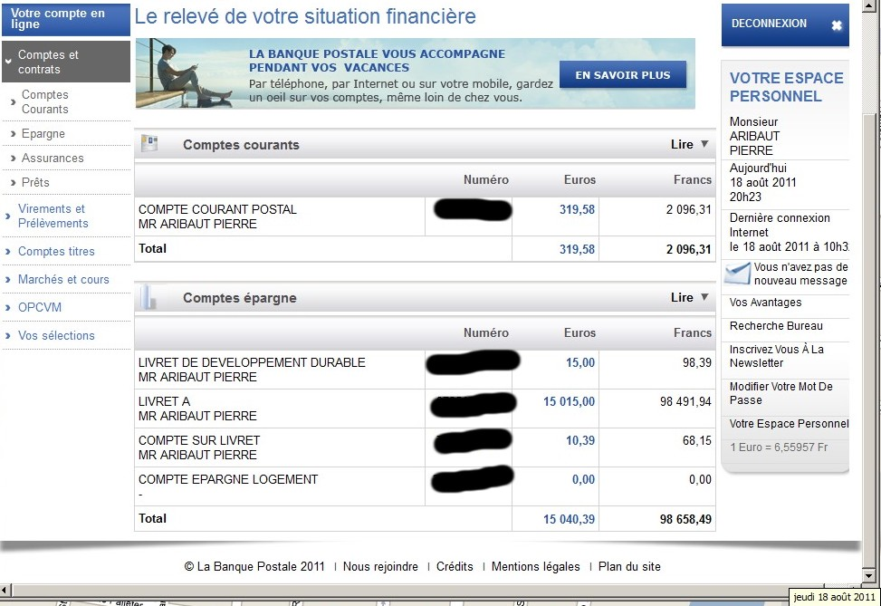 r 233 partition gains en bourse capitaux patrimoine 18 ao 251 t 2011 zetrader bourse finance