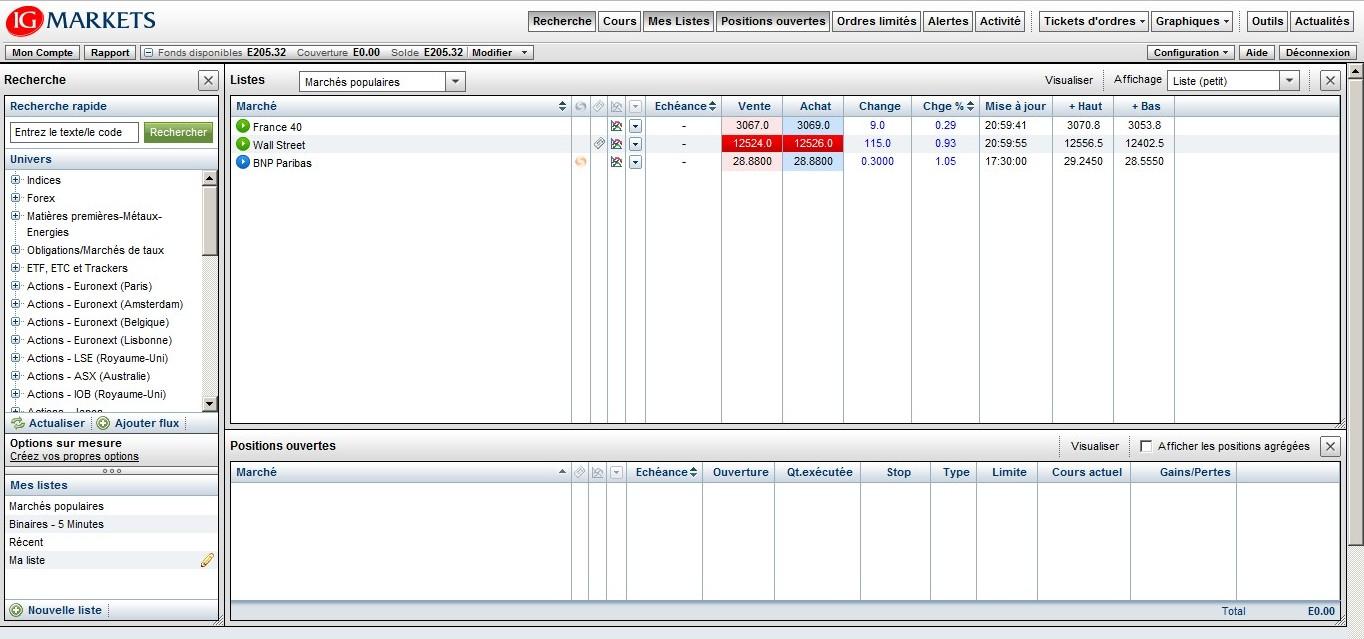 zetrader solde compte ig markets 7 juin 2012